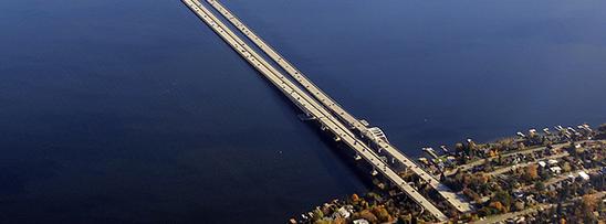 Maior ponte flutuante do mundo