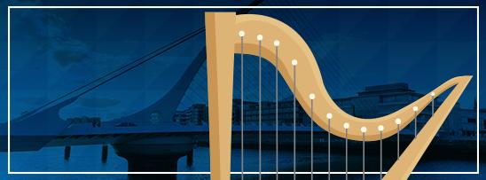Ponte estaiada em forma de harpa