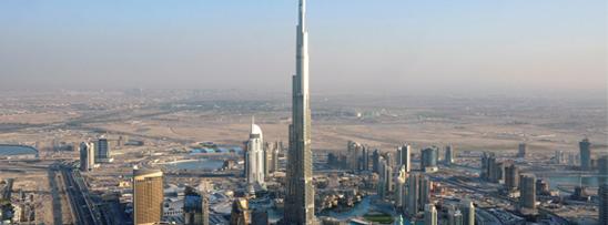 Maior torre do mundo em construção na Arábia Saudita.